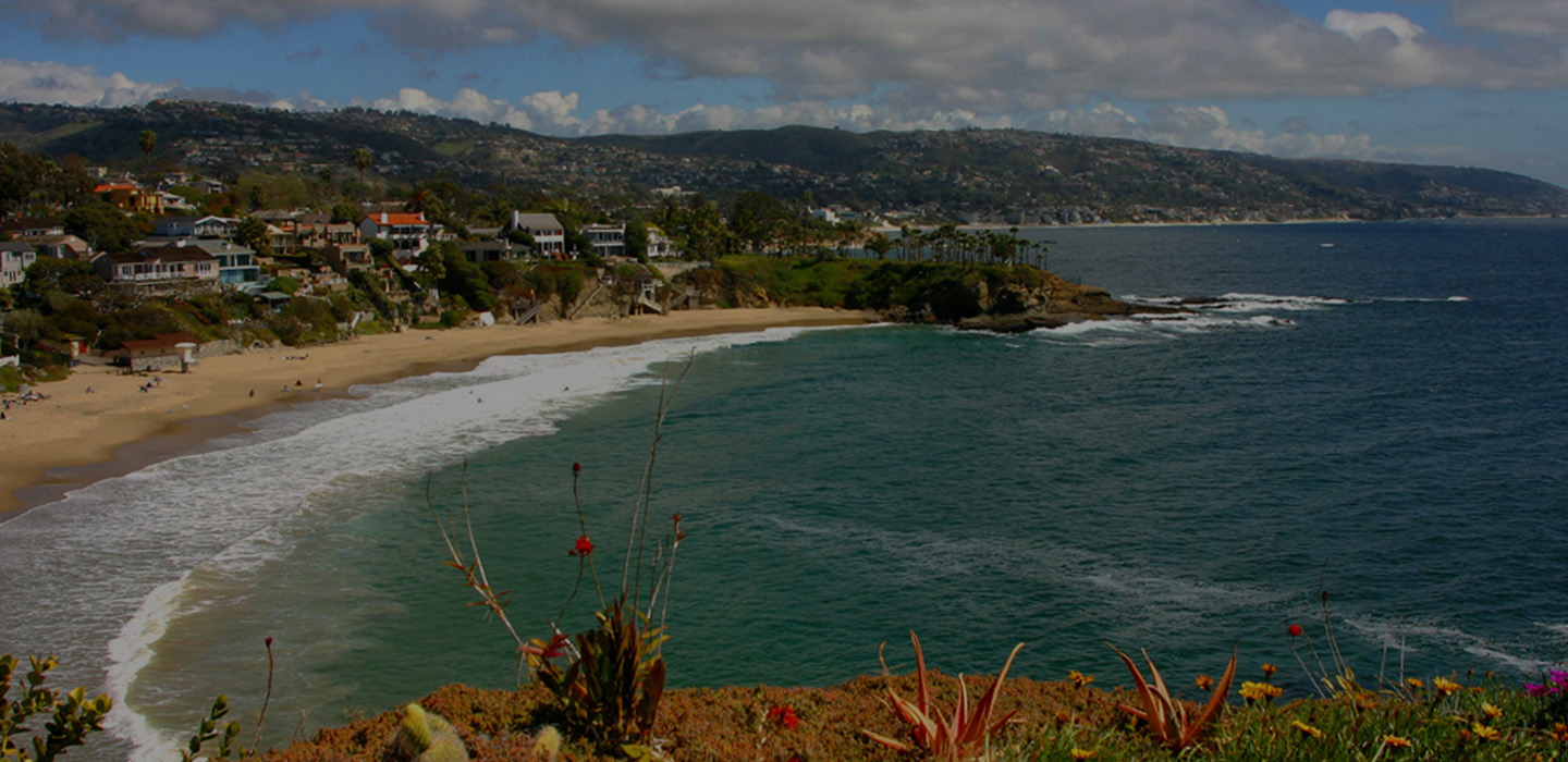 Lagina Beach Crescent Cove looking South towards Dana Point